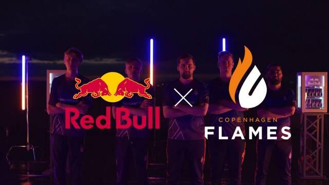 Copenhagen Flames firma un acuerdo de patrocinio con Red Bull