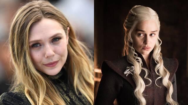 Elizabeth Olsen cuenta cómo casi llegó a ser Daenerys en 'Juego de tronos' y la pifió