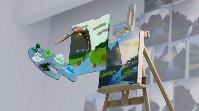 NVIDIA estrena Canvas, su aplicación que usa la IA para convertir dibujos en imágenes reales
