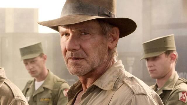 Indiana Jones 5: Harrison Ford se ha lesionado un hombro aunque el rodaje no se detiene