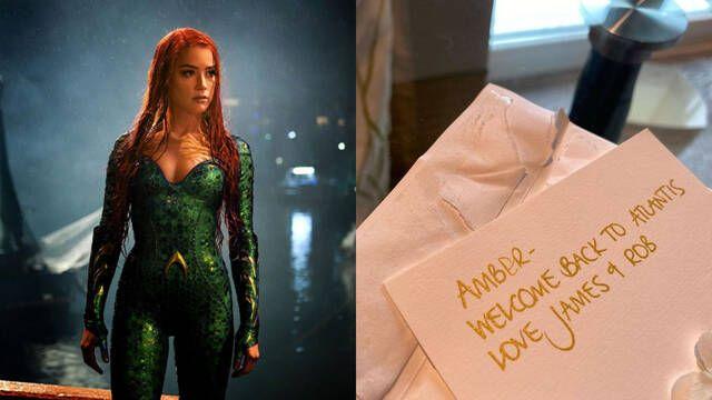 James Wan le da la bienvenida a Amber Heard para la secuela de Aquaman