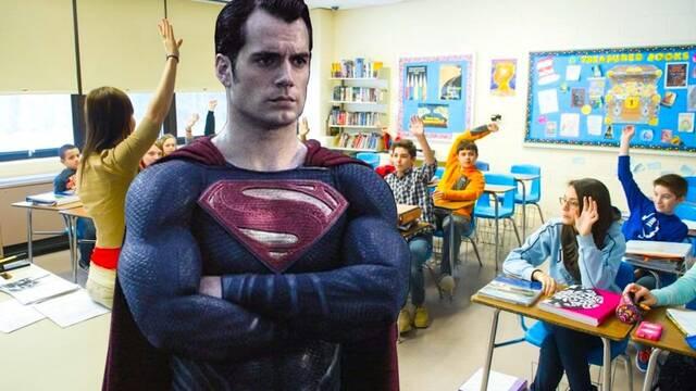 'Mi tío es Superman': Henry Cavill acude a la clase de su sobrino y les da una sorpresa