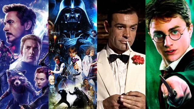 Estas son las 10 sagas más exitosas del mundo del cine