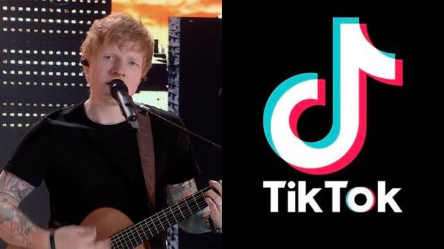 TikTok rompe un nuevo récord; 5,5 millones de usuarios vieron el concierto de Ed Sheeran