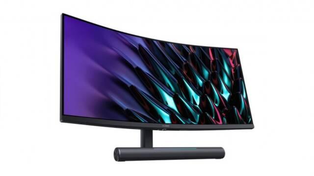 Huawei MateView GT, el monitor para jugar de 3K, 165 Hz y con barra de sonido incorporada