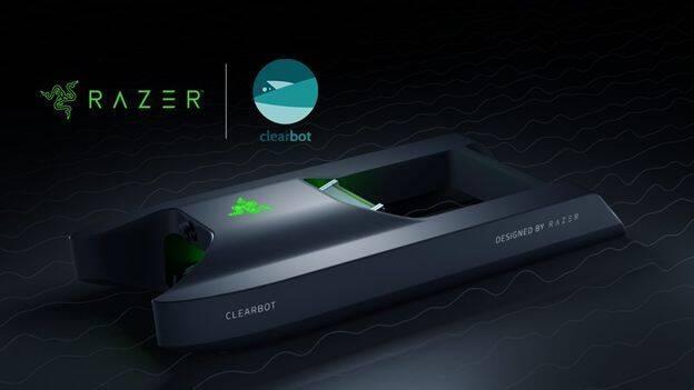 Razer presenta Clearbot, un robot para limpiar los océanos con u diseño futurista