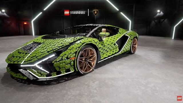 LEGO construye el primer Lamborghini Sián con 400.000 piezas