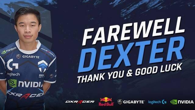Chiefs dice adiós a Dexter, capitán e IGL del equipo de CS:GO