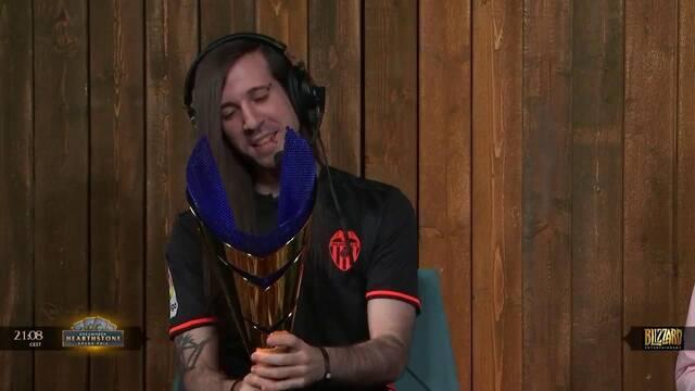 Evangelion,campeón de Hearthtstone en DreamHack Valencia