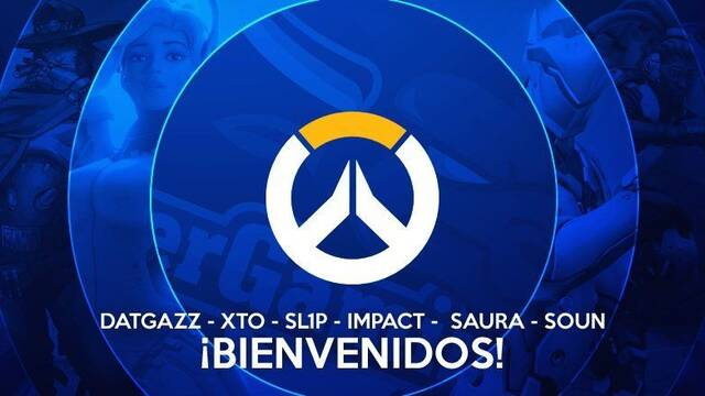 Over Gaming presenta a su equipo de Overwatch