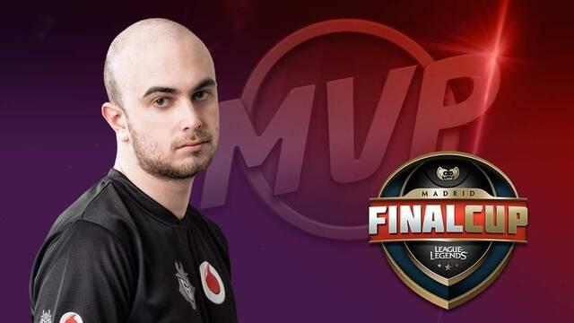 Falco, elegido MVP de la Final Cup de LOL