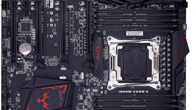 Colorful lanza la placa base iGame X299 Vulcan X, estas son sus características