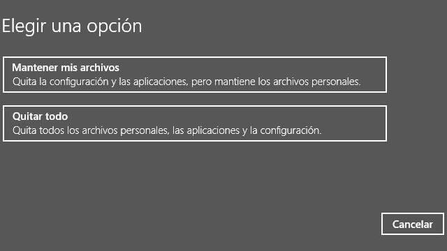 ¿Cómo formatear mi PC con Windows 10?