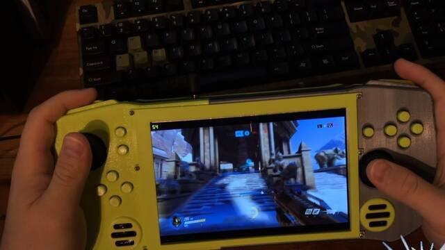 Descubre un ordenador estilo Nintendo Switch con el que puedes jugar a Overwatch