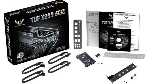 Sale a la venta la placa base ASUS TUF X299 Mark 2 : características y precio