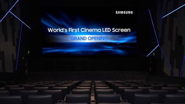 Samsung instala su primera pantalla LED para cines en Corea