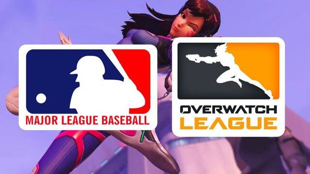 La MLB está considerando abrir una disputa contra el logo de Overwatch League