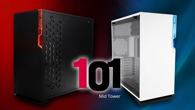 In-Win lanza 101, una semitorre con un diseño minimalista y mucho espacio