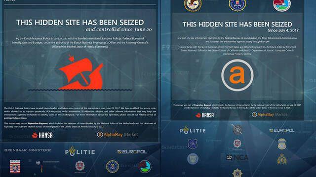 La Europol y el FBI dan el mayor golpe de la historia a las ventas ilegales de la Dark Web