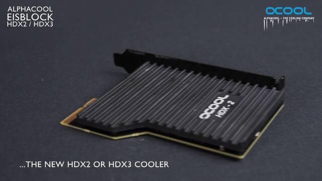 Alphacool presenta dos kits de refrigeración para los módulos SSD