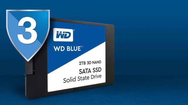 WD Blue 3D, los nuevos discos duros SSD de gran firma Western Digital