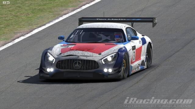 Teo Martín eSports logra un cuarto puesto en las 24 Horas de Spa