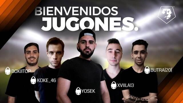 X6 presenta a sus 5 nuevos jugadores para VFO