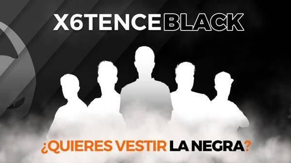 X6 anuncia x6tence Black, su nuevo equipo de CS:GO