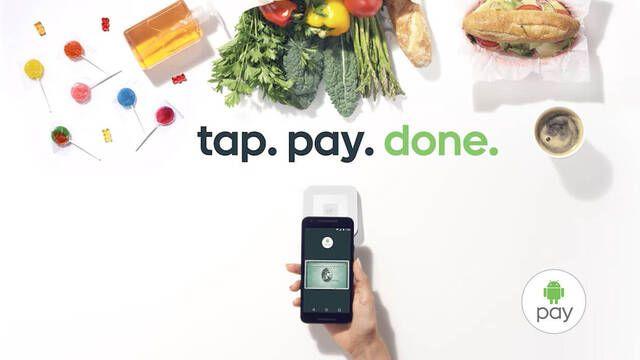 El sistema de pago de Google, Android Pay, se estrena en España