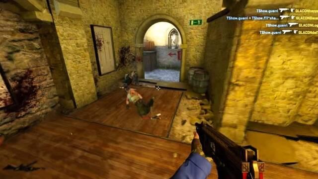 Guerri se pasa el CS:GO matando a tres rivales con un pincho con la escopeta