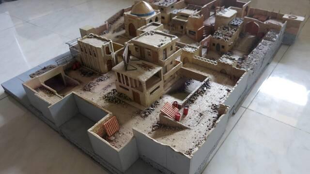 Crean un juego de mesa que recrea el mapa Dust 2 de Counter-Strike