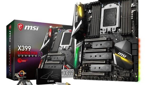MSI X399 Gaming Pro Carbon AC, la placa base preparada para procesadores Threadripper