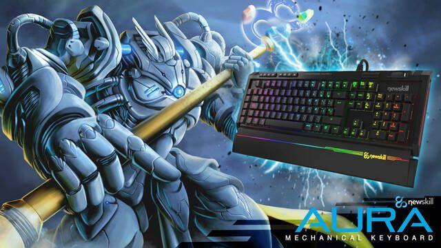 Newskill presenta Aura, su nuevo teclado retroiluminado para jugadores