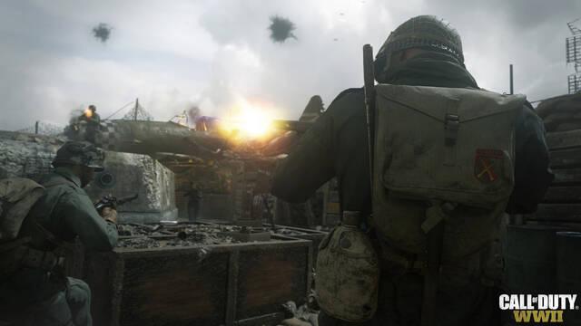 Call of Duty WWII nos enseña la primera 'imagen' de sus partidas con rango