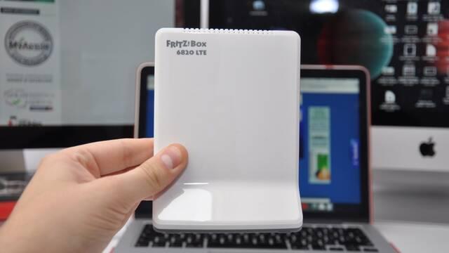 FRITZ!Box 6820 LTE, un router con el que tener conexión a internet en cualquier lugar