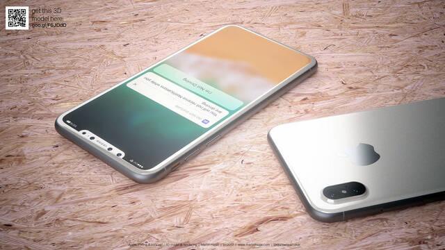 Así será el iPhone 8 en blanco