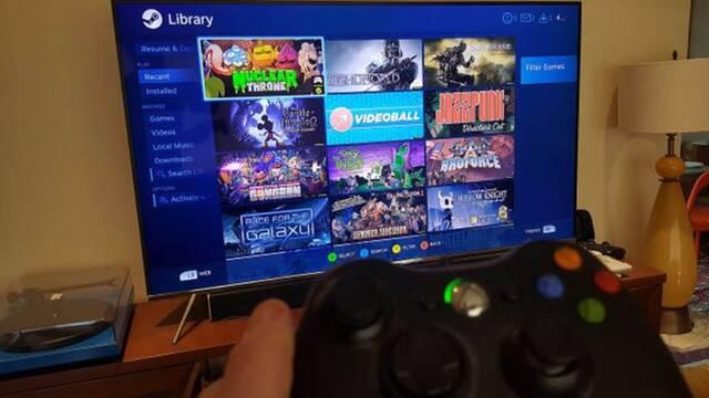 Ya puedes jugar al PC en tu Samsung Smart TV gracias a la nueva aplicación Steam Link
