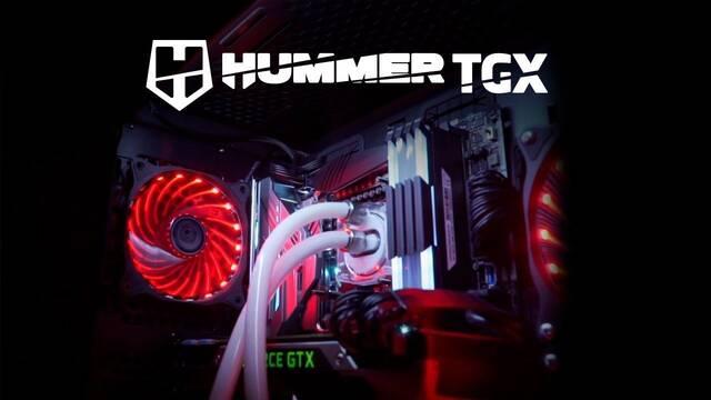NOX anuncia Hummer TGX, una caja tipo torre muy bien diseñada