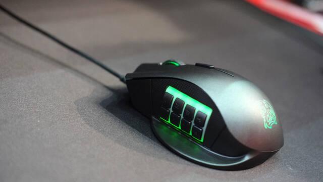 Thermaltake Nemesis Switch, el ratón perfecto para los MMO y los MOBA