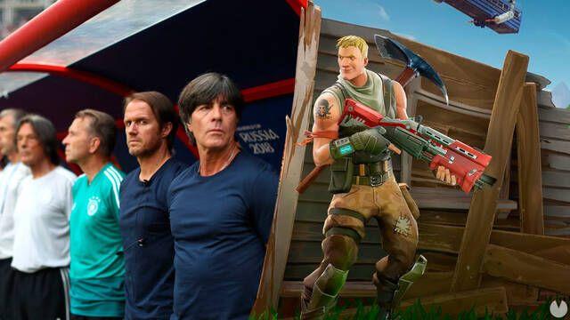 Culpan a Fortnite y otros videojuegos de eliminar a Alemania del Mundial