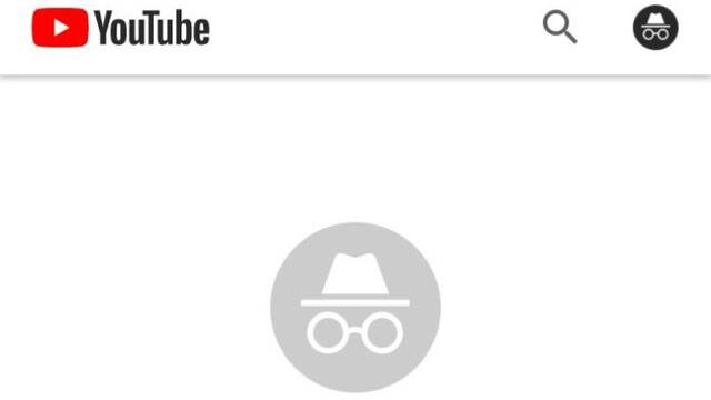 El modo incógnito de Youtube está disponible en Android