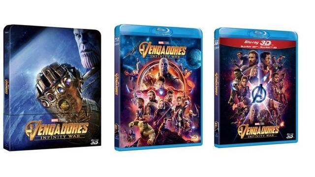 El 29 de agosto llega el DVD y Blu-ray de 'Vengadores: Infinity War'