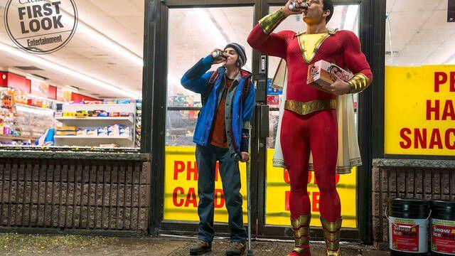 Esta es la primera imagen de Zachary Levi como Shazam