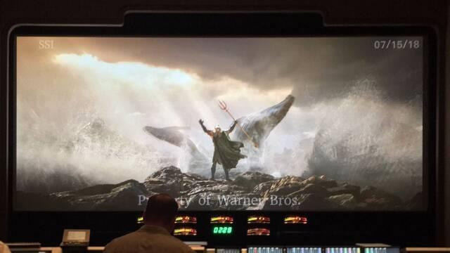 El director James Wan muestra la primera imagen de 'Aquaman'