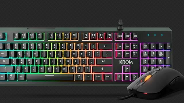 Krom presenta Kaleido: su combo con teclado y ratón RGB