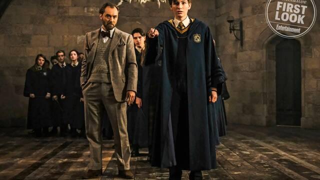 Primera imagen de un joven Newt en 'Los Crímenes de Grindelwald'