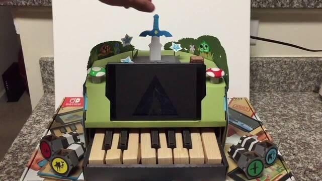 Un piano de Zelda gana el concurso de Nintendo Labo