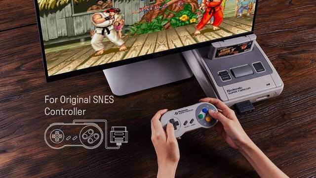 8BitDo crea un kits que convierte mandos de SNES o Mega Drive en inalámbricos
