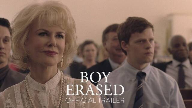 'Boy Erased' someterá a terapia al personaje de Lucas Hedges