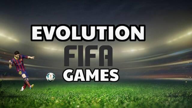 La evolución gráfica de la saga FIFA del 93 al 2018